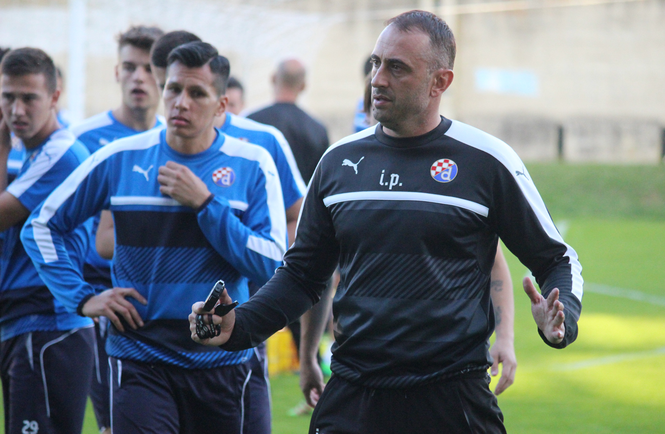 Sigali i trener Petev (Foto: GNK Dinamo)