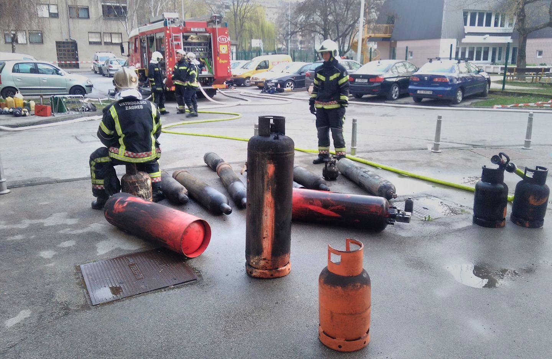 Foto: Vatrogasne postrojbe Zagreba