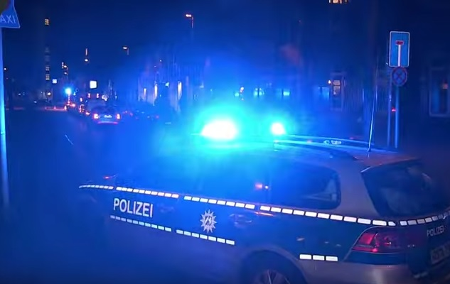 policija, automobil, njemačka