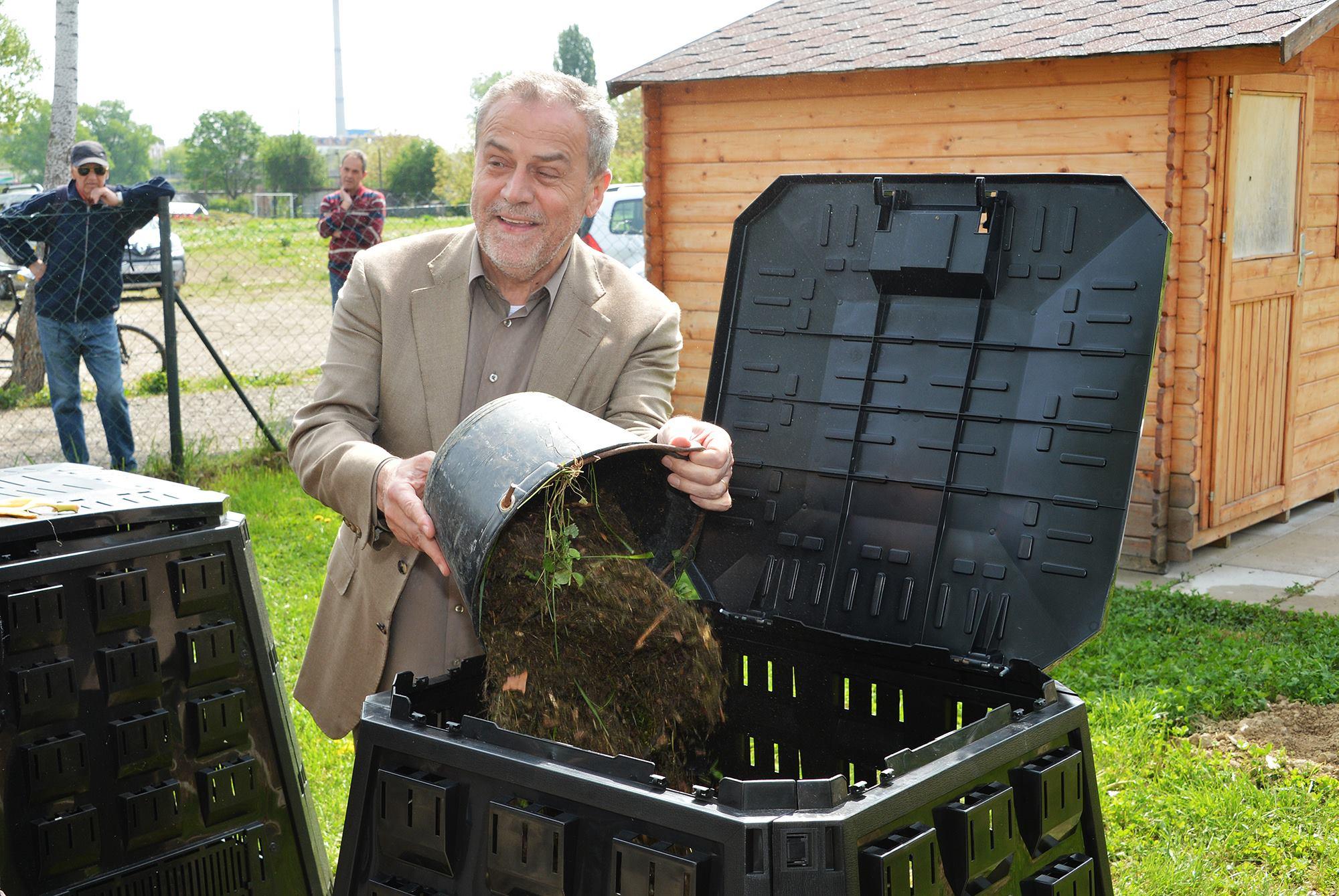 milan bandić, kućno kompostiranje