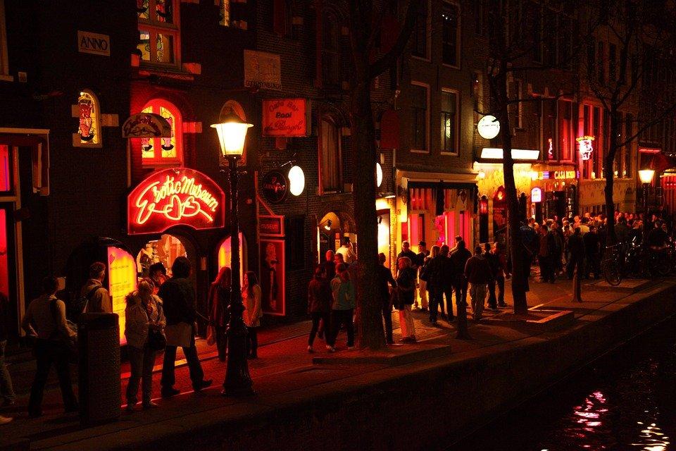 amsterdam, javne kuće, prostitucija