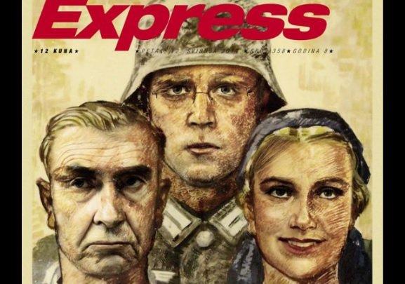 express, rez, naslovnica