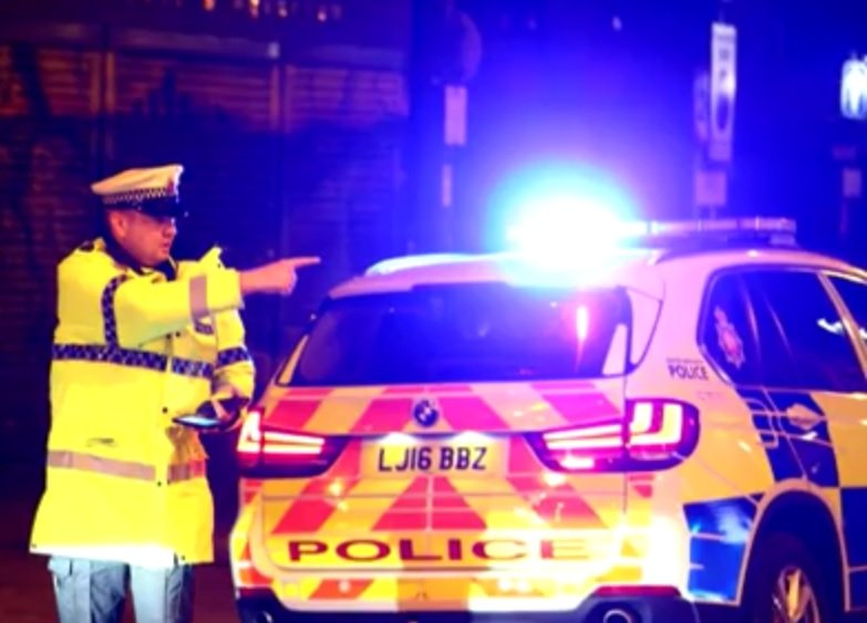 policija, manchester, velika britanija