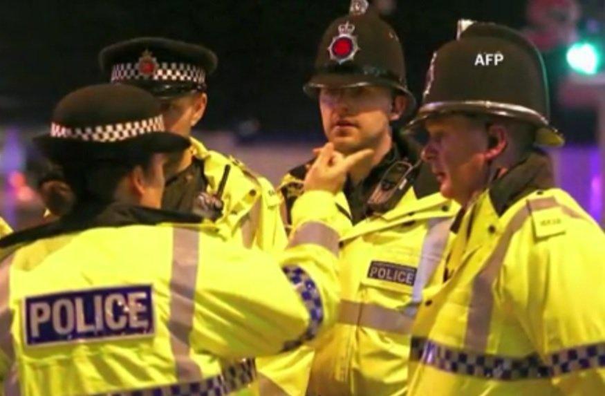 policija, velika britanija