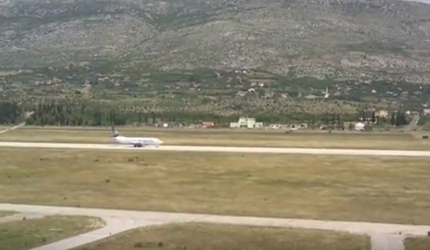 Zračna luka Mostar - ilustracija