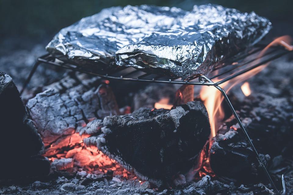 aluminijska folija, hrana
