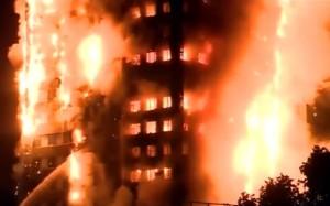 london, požar