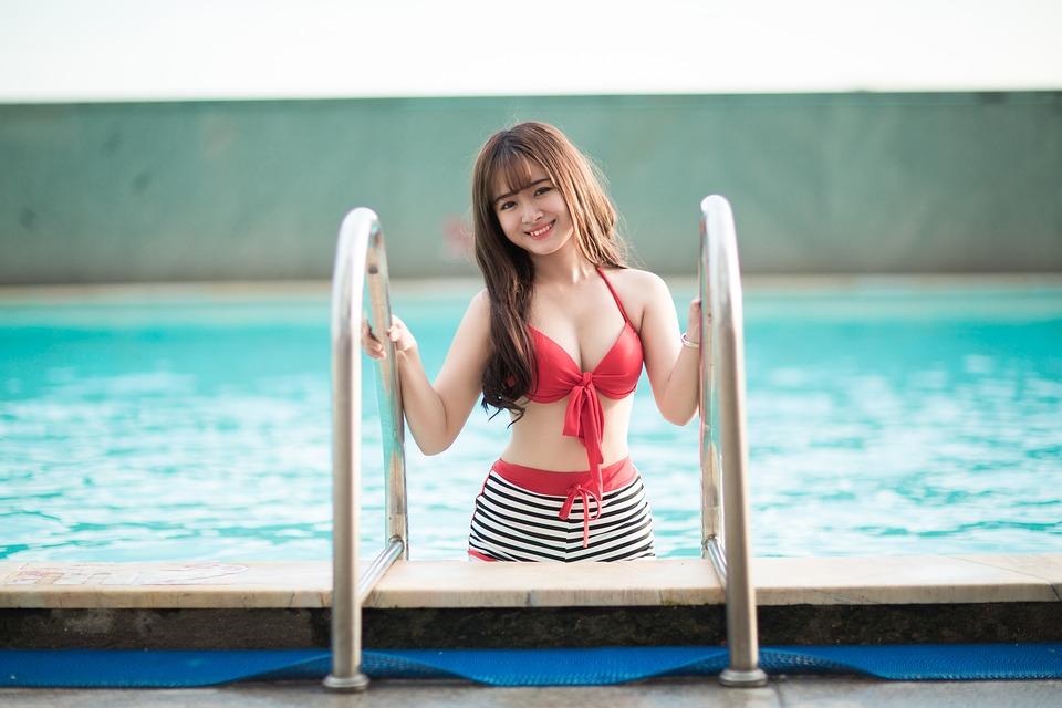 plivanje, bazen, djevojka
