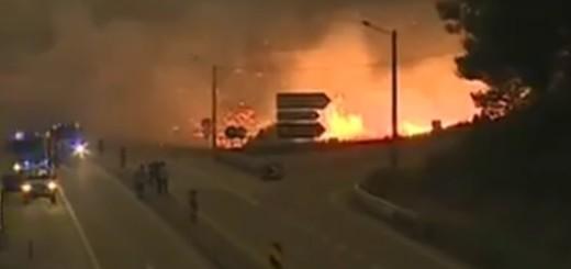 požar, portugal