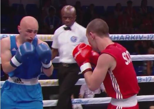 Stipan Prtenjača na Europskom prvenstvu u boksu, nije uspio protiv Bugarina Elijana Dimitrova koji boksa za Lozničane