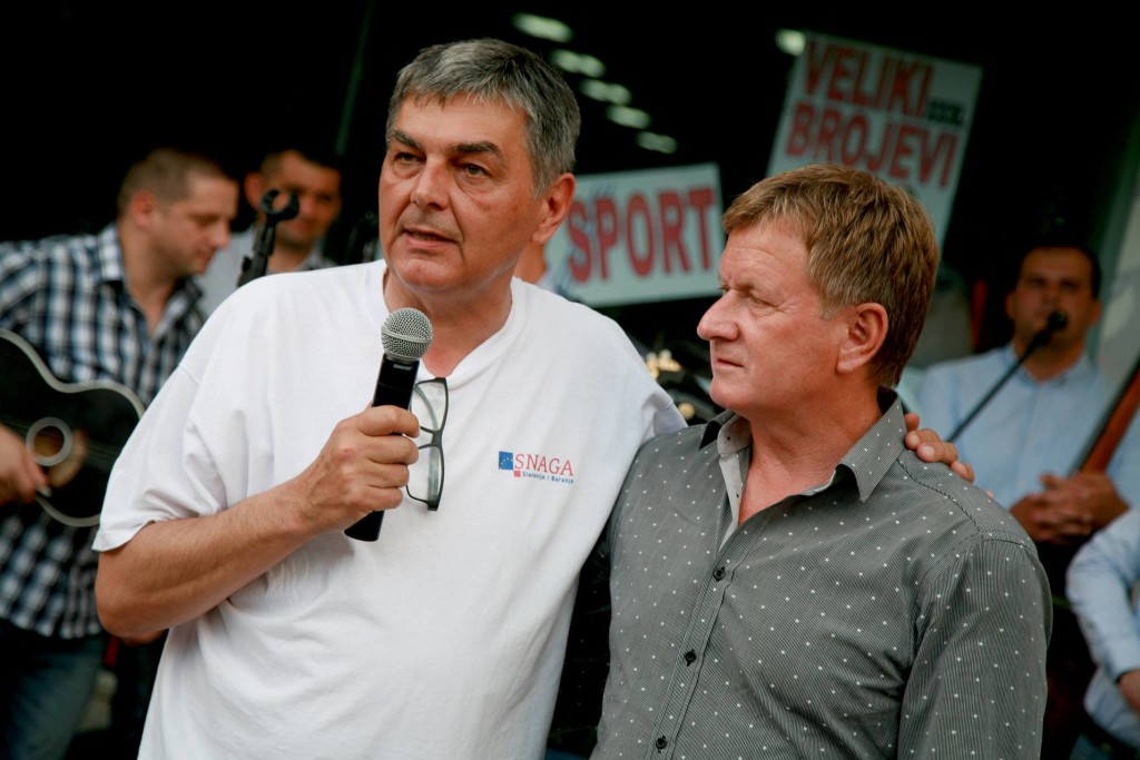 Župan Vladimir Šišljagić i pjevač Stjepan Jeršek Štef (Foto: Facebook)