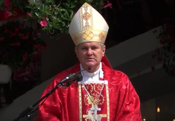vlado košić, biskup