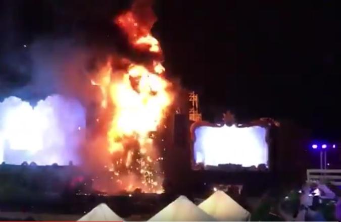 španjolska, požar, festival