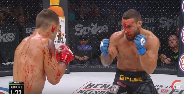 Brandon Girtz,Derek Campos,tučnjava,borba,krv