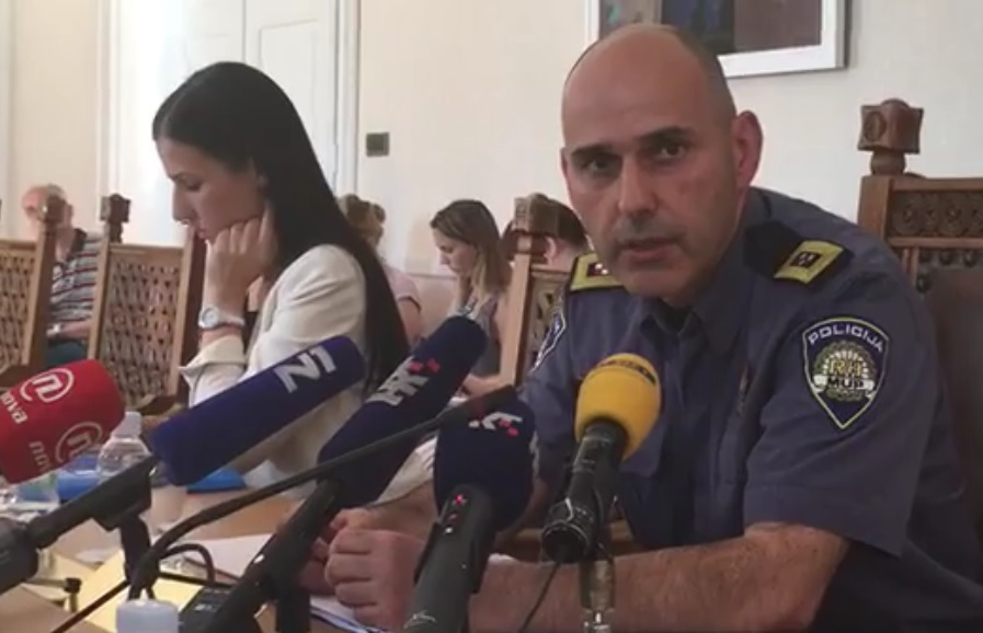 marko srdarević, ravnatelj policije