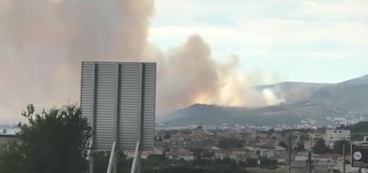 požar, trogir