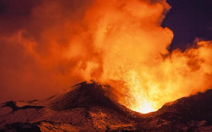 yellowstone, vulkan