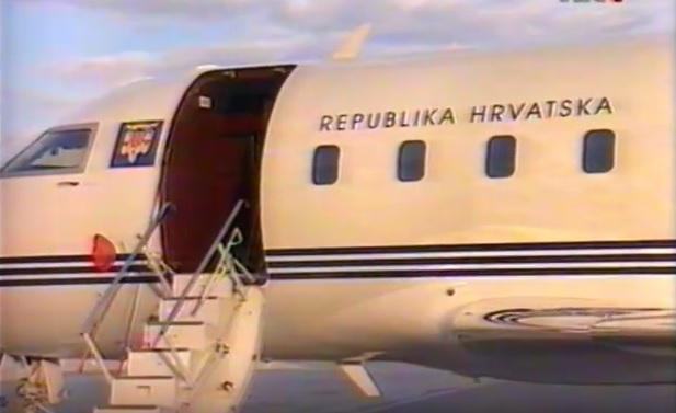 zrakoplov, vlada, hrvatska