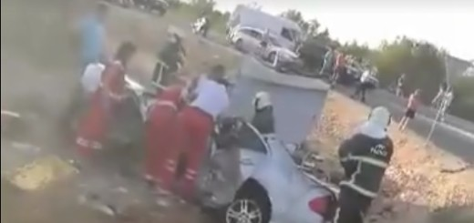 šibenik, mercedes, prometna nesreća