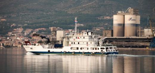 Brodosplit, Radni brod betonara 'Plovput Split'