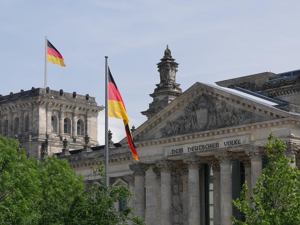 njemačka, berlin, zastava