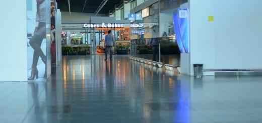 aerodrom, odlazak