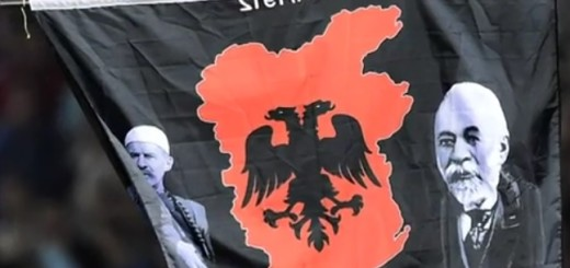 dron, velika albanija, nogomet