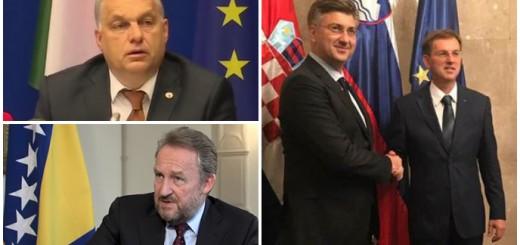 plenković, izetbegović, orban, cerar