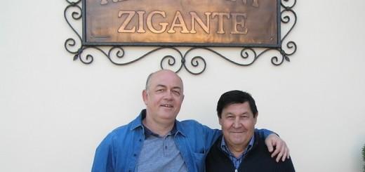 Giancarlo Zigante i novinar Damir Strugar