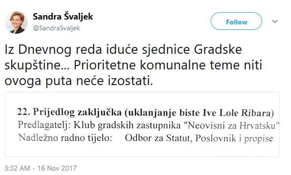 švaljek, faksimil