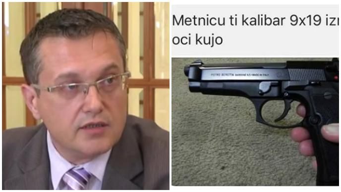 beus, pištolj