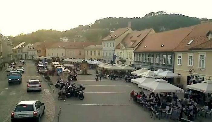 Trg kralja Tomislava u Samoboru gdje se dogodila strašna tragedija