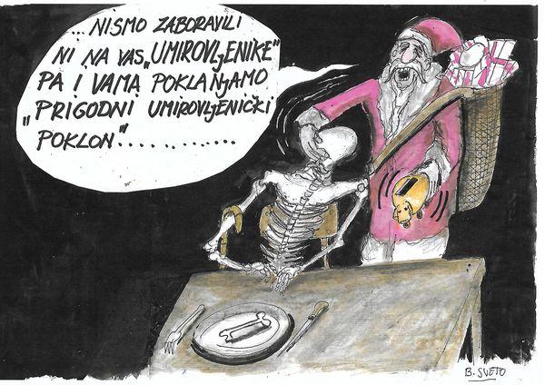 Karikatra, sveto