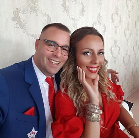 Jelena sa suprugom Peđom (Foto: Facebook)