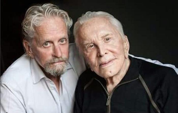 Otac i sin: Kirk i Michael Douglas (Foto: Instagram)