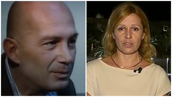 Dječakova majka i otac: Nina Kuluz i Alessandro Avenati