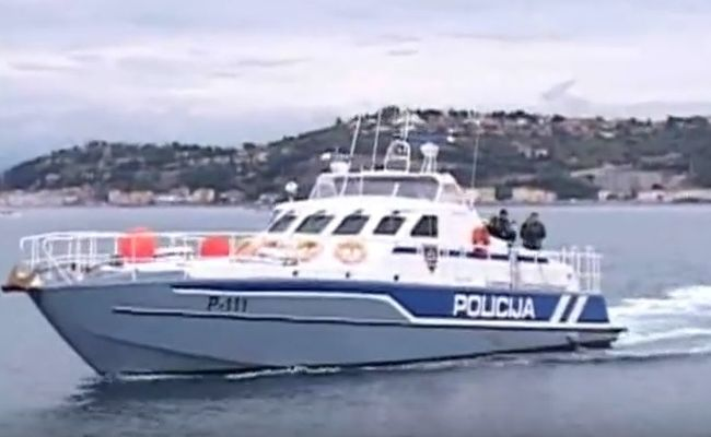 policija slovenija, more