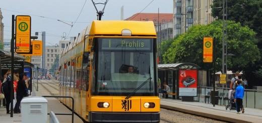 dresden, tramvaj