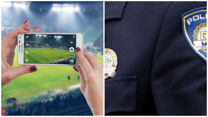 policija, utakmica