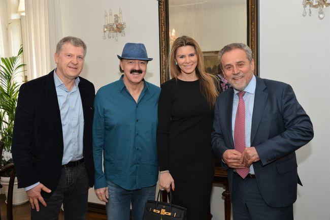 Haris Džinović za koncerta u Zagrebu s gradonačelnikom Milanom Bandićem (Foto: facebook)