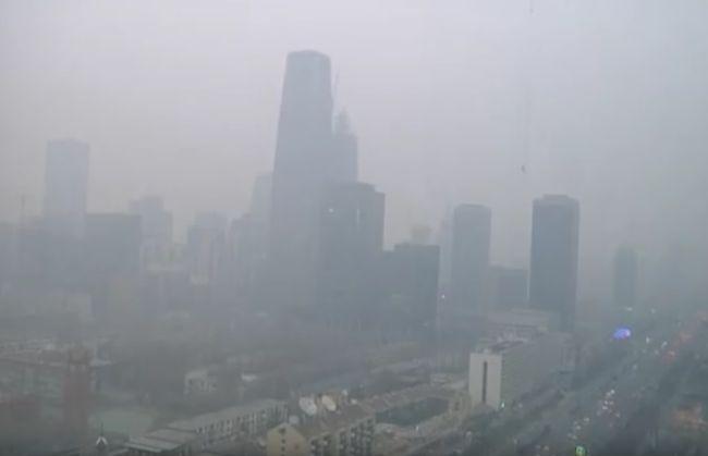 peking, smog