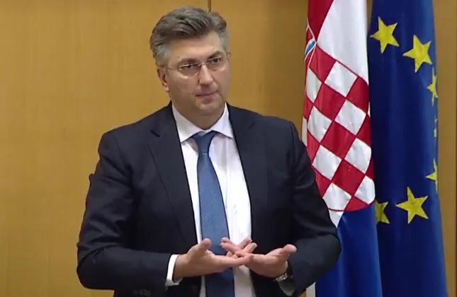 andrej plenković, sabor