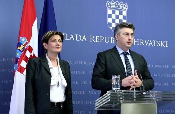 Image result for plenković dalić