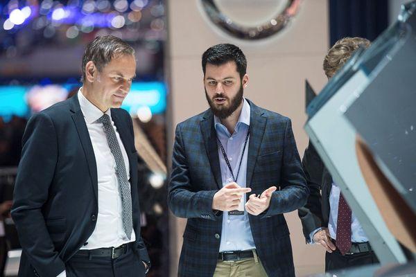 Oliver Blume, CEO Porschea i Mate Rimac, osnivač i CEO Rimac Automobila