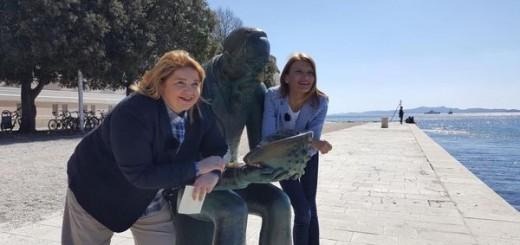 Tatjana Krajač i Sabina Glasovac (Foto: Facebook)