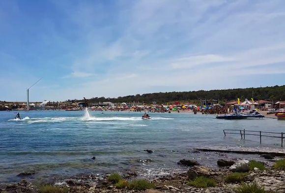 zrće, plaža zrće