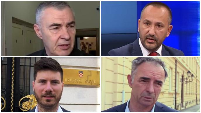 glasnović, zekanović, pernar, pupovac