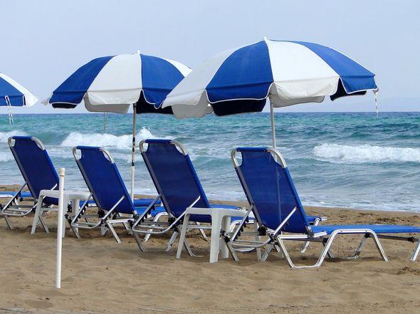 ležaljke, more