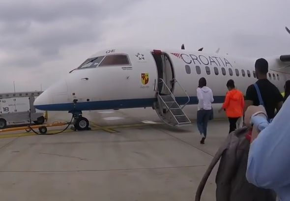 croatia airlines, putnici