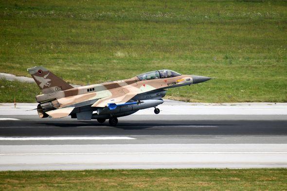 Izraelski avioni F-16 prvi put u Hrvatskoj (Foto: MORH)